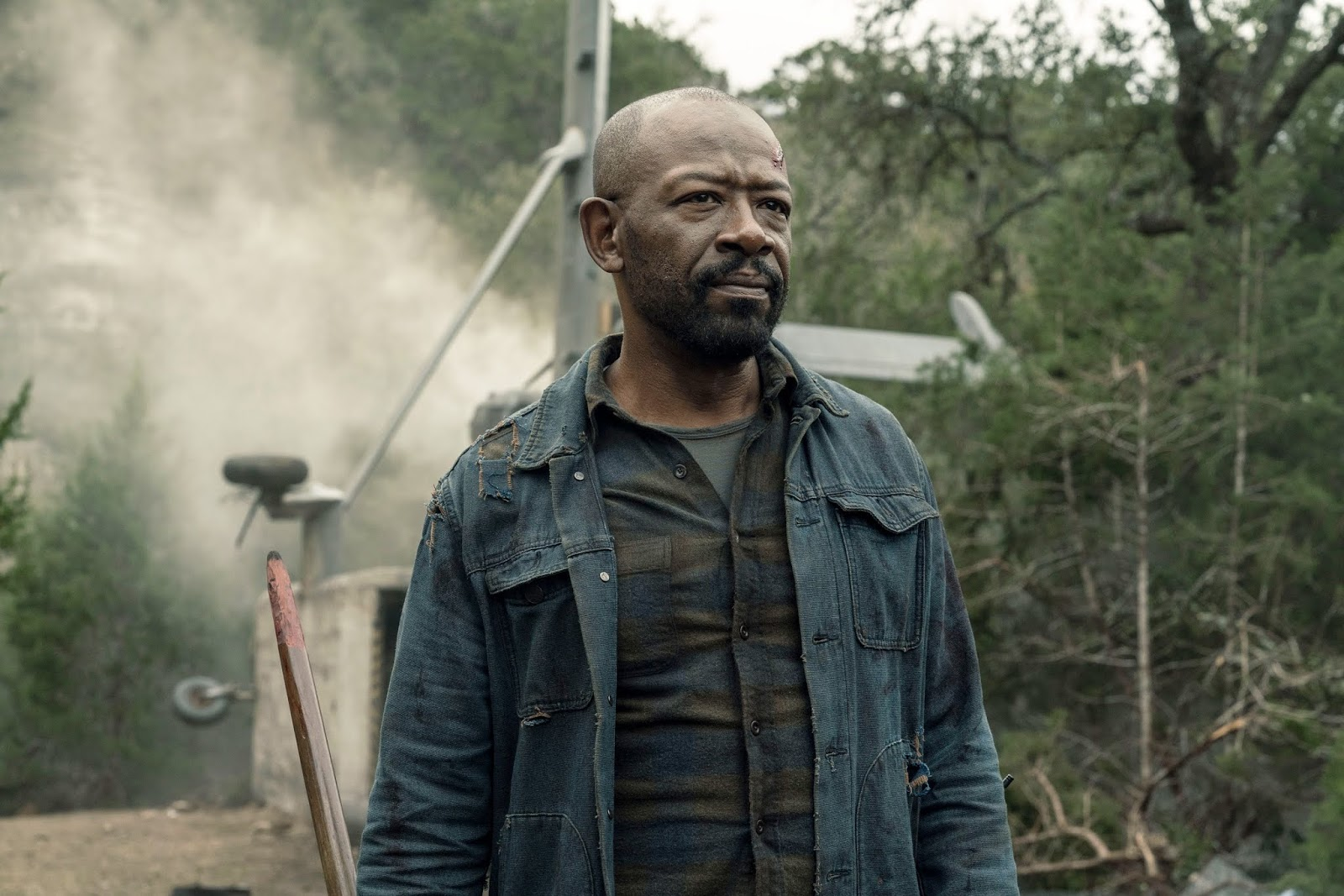 Morgan en la quinta temporada de Fear The Walking Dead