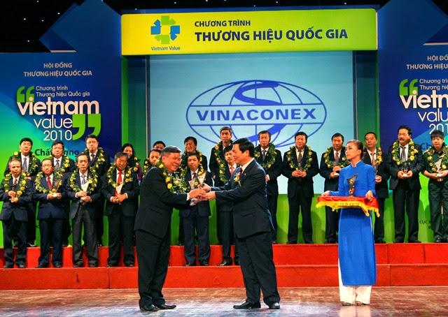 XMT nhận giải thưởng thương hiệu quốc gia