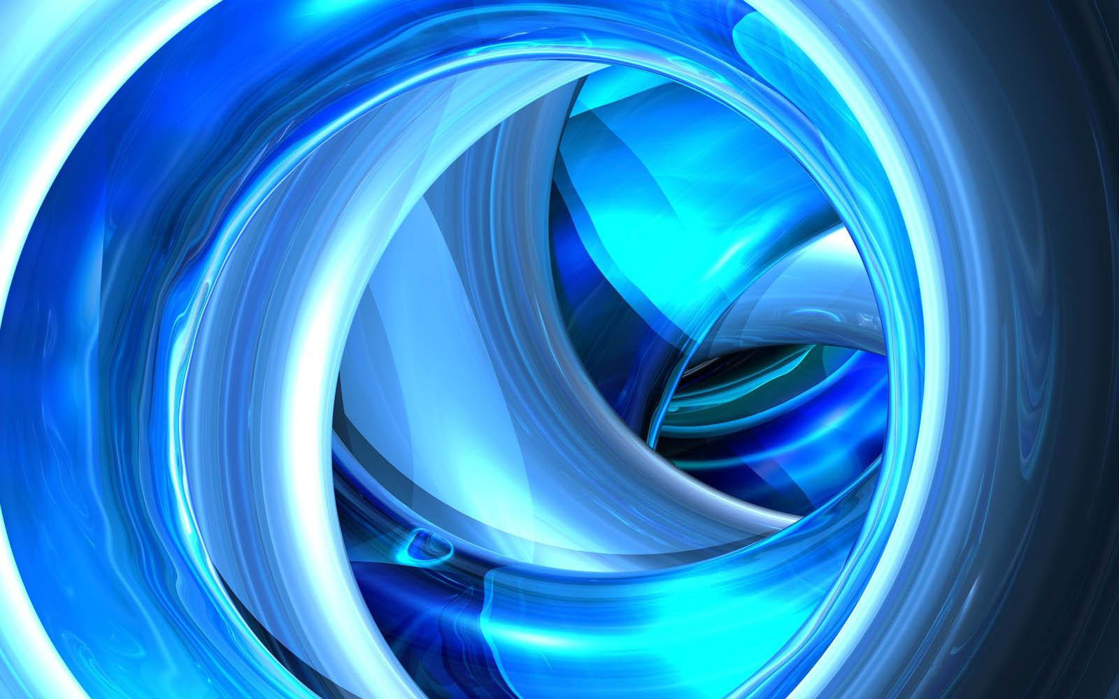 Wallpaper: Blue 3D Wallpapers