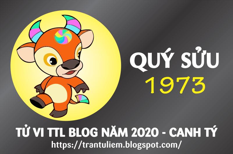 TỬ VI TUỔI QUÝ SửU 1973 NĂM 2020