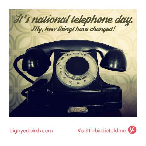 National Telephone Day Wishes Pics