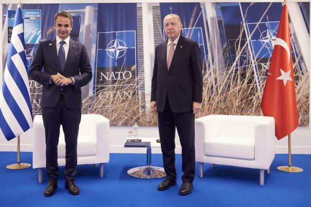 Ολοκληρώθηκε η συνάντηση Μητσοτάκη-Ερντογάν