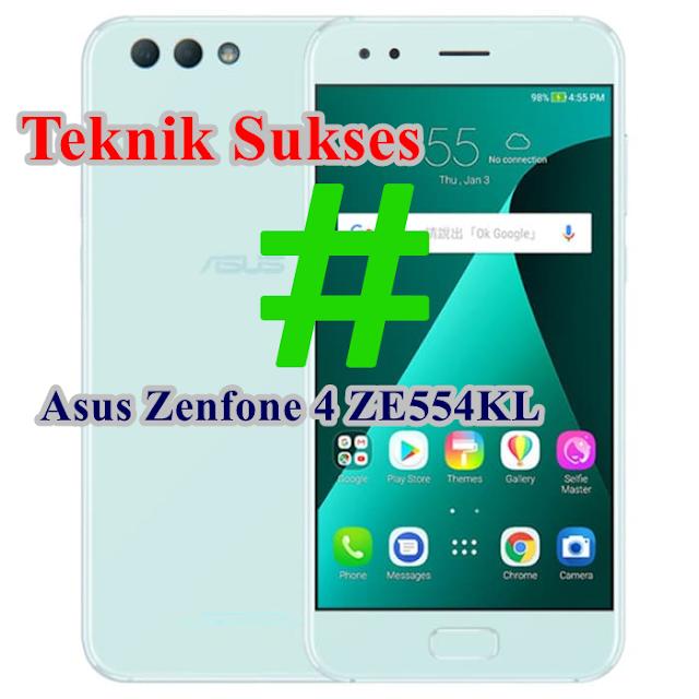 TEKNIK SUKSES ROOTED ASUS ZENFONE 4 ZE554KL