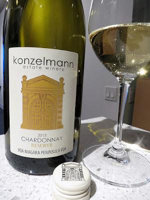 Konzelmann Chardonnay Reserve 2015 (88 pts)