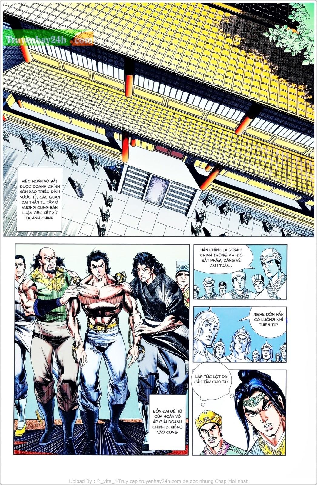 Tần Vương Doanh Chính chapter 24 trang 8