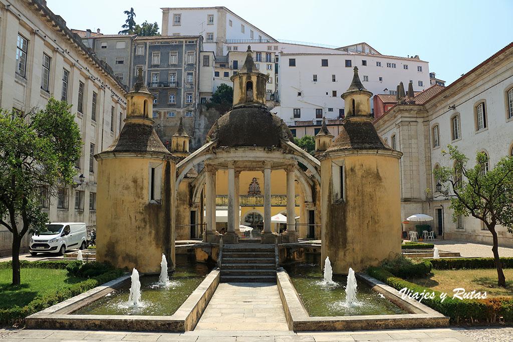 Jardín de la Manga de Coimbra