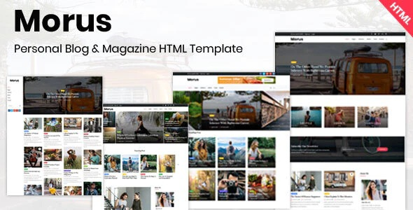 Personal Blog & Magazine Template