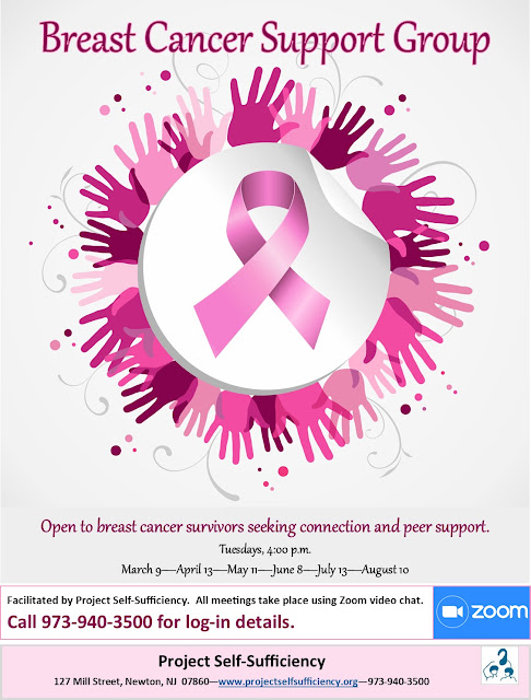 Breast cancer support group launched at Project Self-Sufficiency