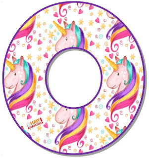 Abc de Unicornio. Unicorn Abc.