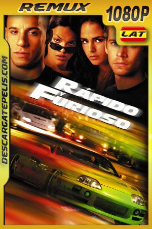 Rápido y Furioso (2001) 1080P BDREMUX Latino – Ingles