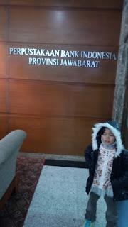 Pintu Masuk Perpustakaan Bank Indonesia Bandung