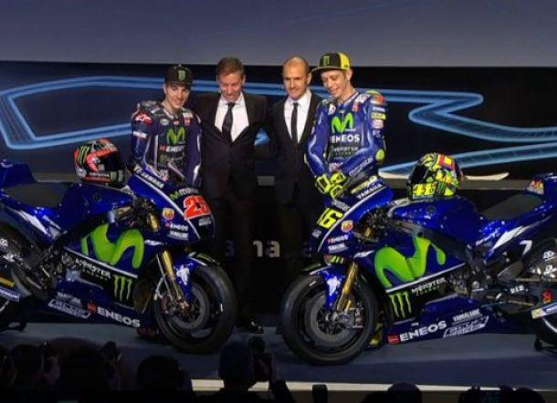 Yamaha Resmi Luncurkan Motor untuk Rossi & Vinales di MotoGP 2017