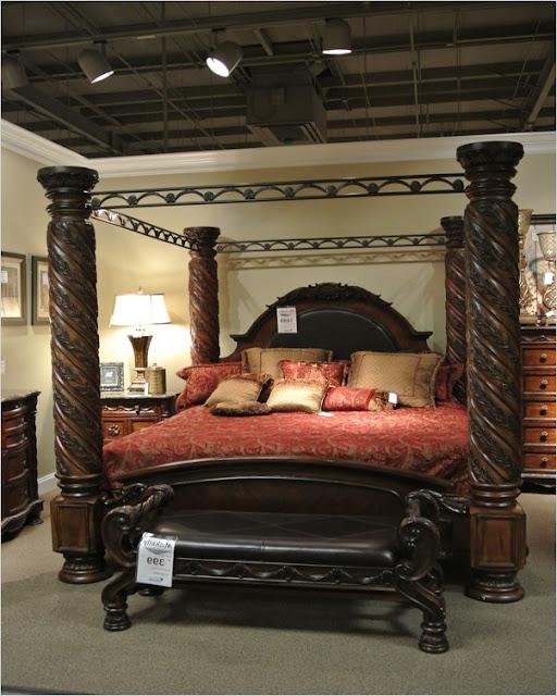 luxury canopy bedroom sets