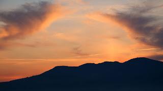 Very early dawn sky