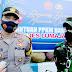Kapolres Dan Dandim 0821 Lumajang Berangkatkan Pendistribusian 5.000 Kg. Beras Bantuan PPKM Darurat Untuk Warga Lumajang