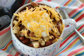 Easy Crock Pot Taco Soup recipe from Served Up With Love