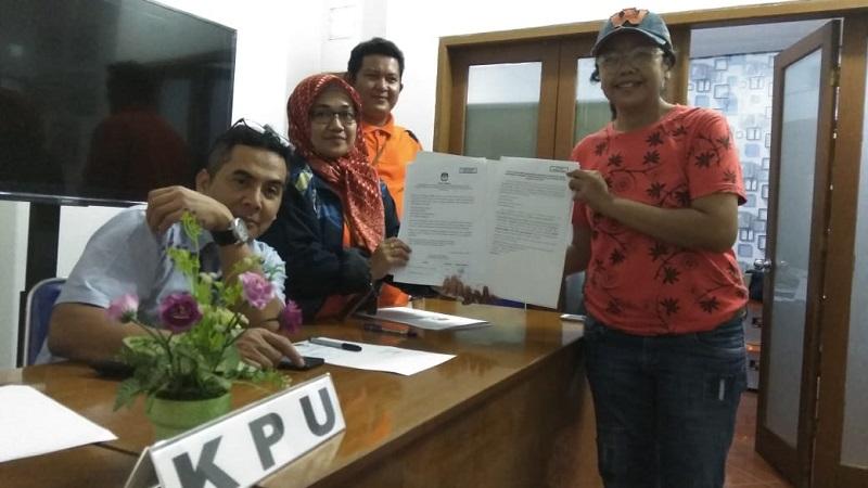 Pilkada Cianjur, Bapaslon Perseorangan Dadan-Irvan Lolos ke Tahap Berikutnya
