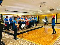 Hyatt Regency Kinabalu Raikan Krismas Bersama Kanak-Kanak Kurang Bernasib Baik