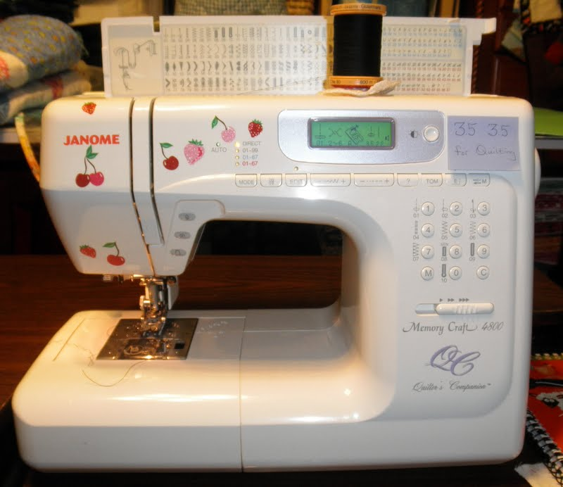 Cheryl's Teapots40Quilting National Sewing Machine Day Beauteous Sewing Machine Day