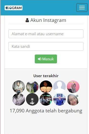 menambah followers instagram dengan gogram.net