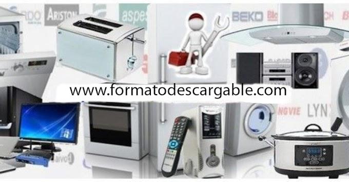 Reparación de Pequeños Electrodomésticos - Descarga Manual