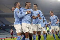 City manager Pep shake off talk of records after 21st win in a row