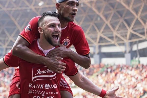 Pelatih Persija Memuji Shahar Ginanjar Atas Kemenangannya
