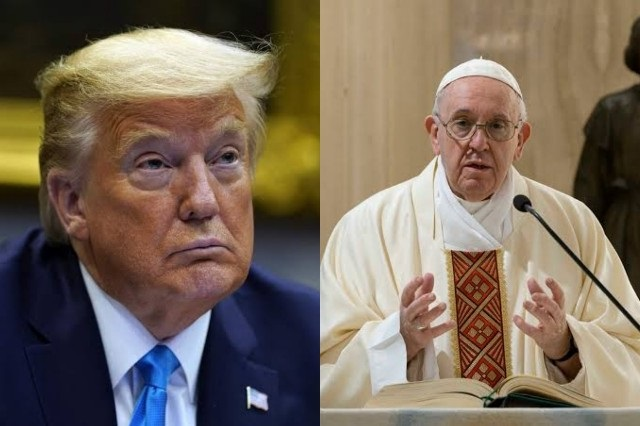 US President Donald Trump Is Not A Christian — Pope Francis