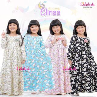 Koleksi Baju anak LABEBAH Terbaru Homedress Elinaa