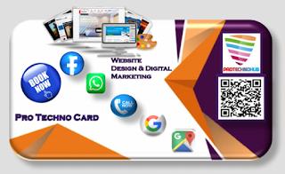 Digital business card,smart digital business card