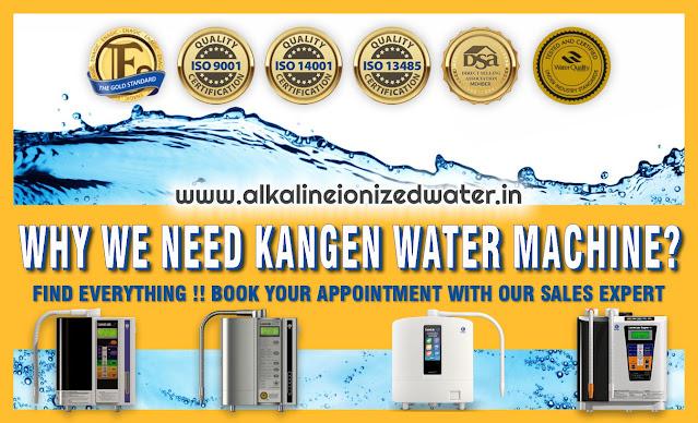 Kangen Water Machine Certifications
