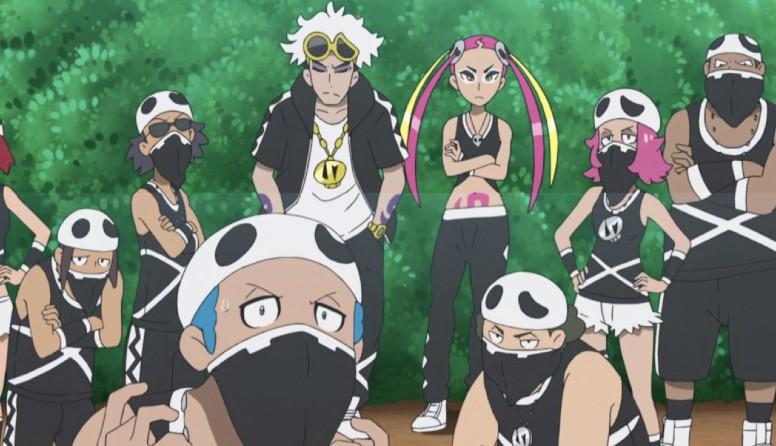 Equipe Skull Anime Pokémon
