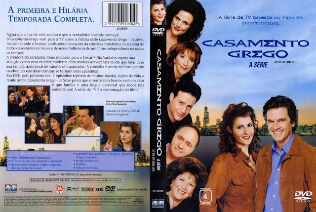Capa DVD Casamento Grego A Série