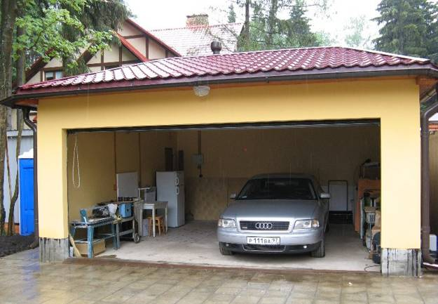 45 model favorit garasi modern masa kini rumahku unik for 2 5 car garage cost