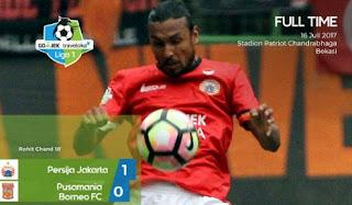 Persija Jakarta vs Borneo FC 1-0