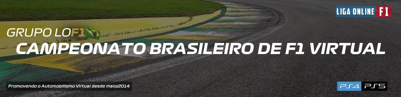 Liga Online F1 - Campeonato Brasileiro de F1 Virtual