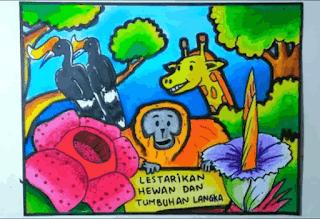 poster menyayangi dan merawat hewan www.simplenews.me