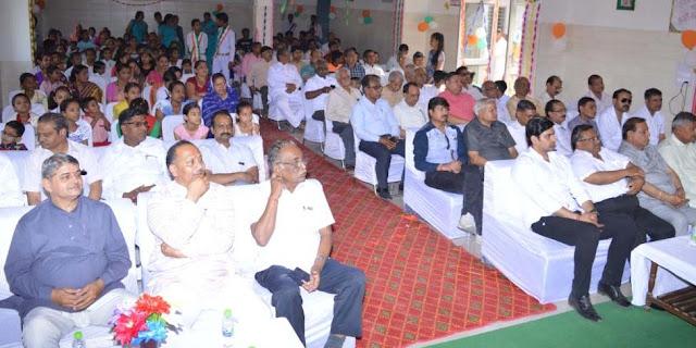 Saraswati Vidya Mandir, Indian New Year and Anniversary Celebrated in Balgagadh