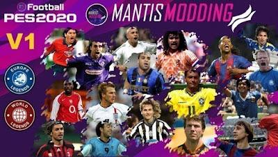 eFootball PES 2020 MyClub Legends by Junior Mantis