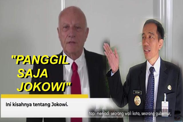Kisah Jokowi Diceritakan Bernard Chen dari Perancis