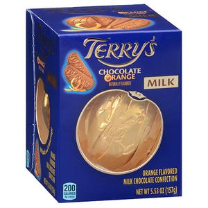 Socola hình trái cam Terrys Chocolate Orange hàng xách tay từ Mỹ