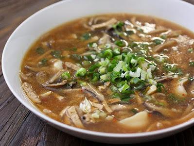 Mushroom ready to eat soups