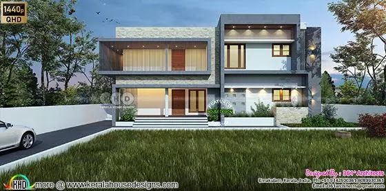 Duplex House with 2 living units positioned over 2 floors