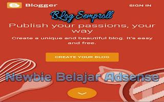Cara Membuat Blog Yang Memenuhi Standar Google Adsense