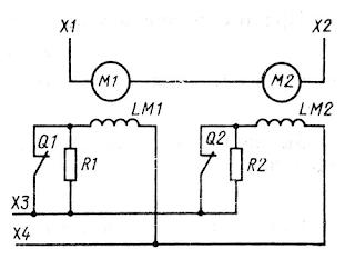 Автоматическое уменьшение магнитного потока гребных электродвигателей в аварийном режиме