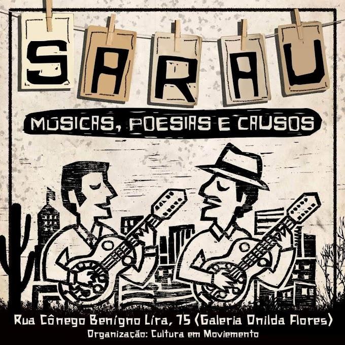 Cultura em Movimento: Nesta sexta-feira tem Sarau em Surubim