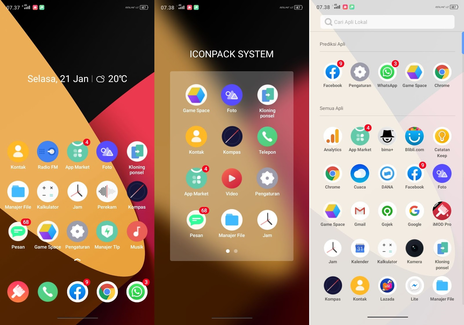 New Realme UI Premium Themes for OPPO & Realme Android