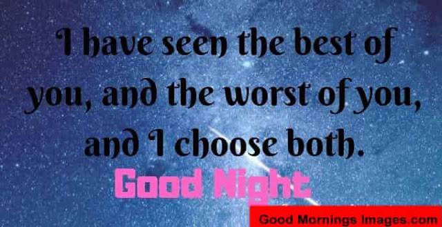I Have Seen The Best Of Good Night