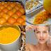 خلطة قشرة البرتقال لصنفرة بشرة الجسم والوجه