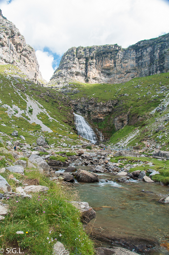 Parque Nacional de Ordesa. Cola de caballo. Recorrido por Huesca